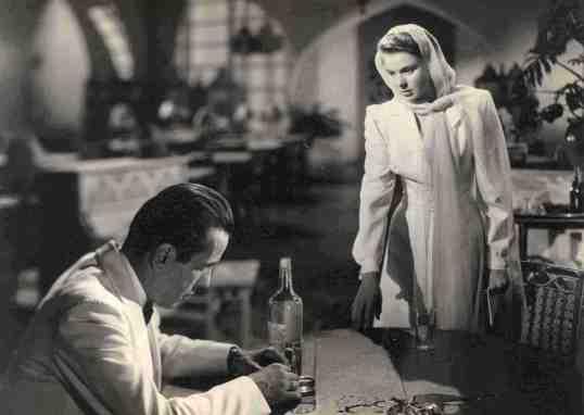 Bogart y Bergman: encuentro en el Café de Rick