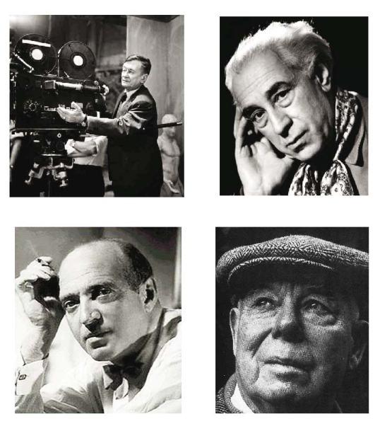 Algunos cineastas, como Julien Duvivier, Abel Gance, Max Ophüls y Jean Renoir tuvieron que escapar del nazismo