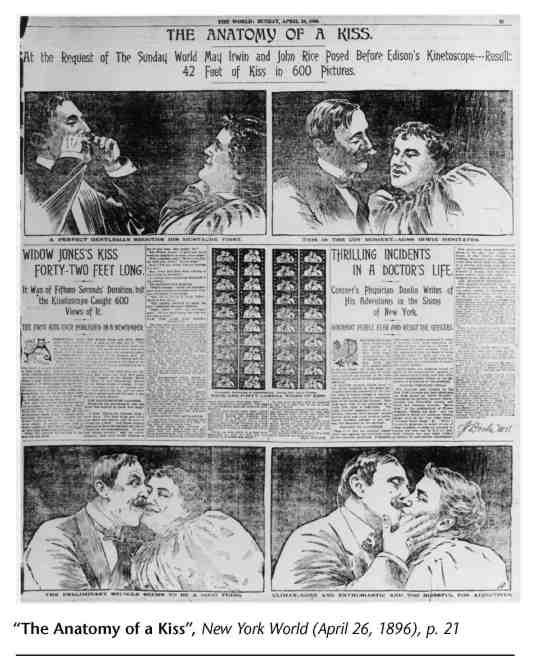 Artículo sobre The Kiss, con motivo de su estreno