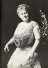 La protagonista de The Kiss, May Irwin, ya era una actriz conocida en los escenarios neoyorquinos