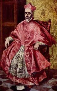 Retrato del inquisidor general, Fernando Niño de Guevara, realizado por El Greco