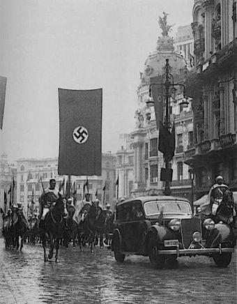 Foto Nazis Gran Vía
