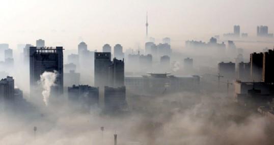 Una imagen de la polución
