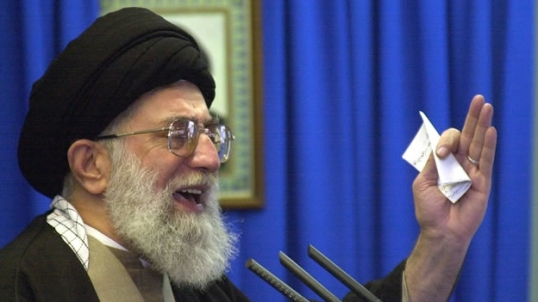 Alí Jamenei, máxima autoridad religiosa del país