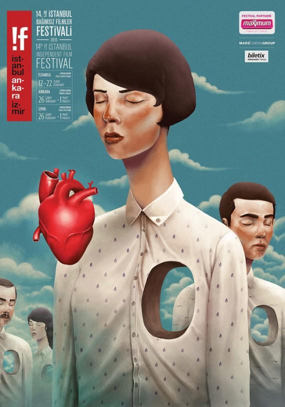 Cartel de la pasada edición del Festival de Cine de Estambul